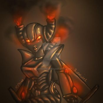 Aetna - Flames by LadyIonia