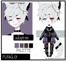 Punkk # 01 adoptable closed by AS-Adoptables