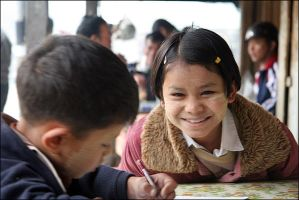 Smile of Myanmar by pourquoipas