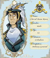 :Pokelia: Chevalier Beau Roux by keldeos