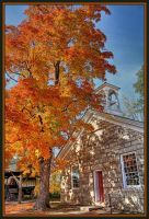 Ye old schoolhouse by AuTuMn-Lee