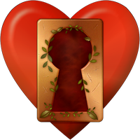 Most Secret of Hearts - PNG by FantasyStock