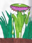 Venus fly trap monster by Armygeneral13