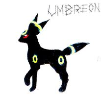 Umbreon by Rose--Wolf