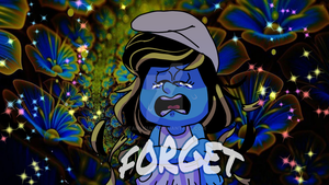 Smurfs: FORGET - Smurfette by TairusuKU