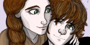 Hiccup and Valka by Taranee11