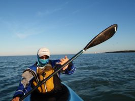 Passing Cape Romano by ClymberPaddler