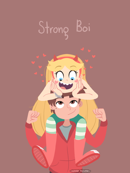 Strong Boi by Leneeh