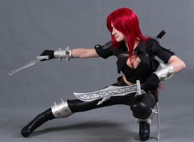 League of Legends (Katarina) by LiSaCroft