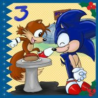 Sonic Advent Calendar: 3rd by Feniiku