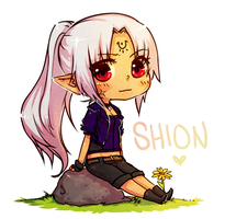 Shion for ZedaRavynCrest by JotakuOC