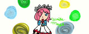 White Mage :3 by CutieBlackMage