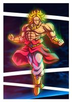 Broly by leocirius