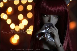No telling what she'll do by yenna-photo