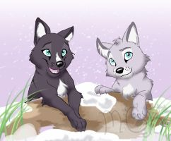 Wolfy trade by melted-gummy-bears
