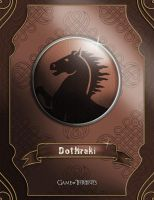 Game of Thrones: Dothraki by dmavromatis