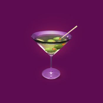 Martini icon by AndexDesign