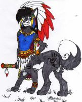 Grand C. Lupe Taur 3 - Colored by dragonheart07