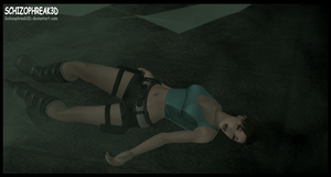 Lara Croft- Poison Gas Atack!! 3 by Schizophreak3D