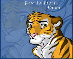 Rest In Peace Big Tiger by Kuitsuku
