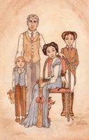A somewhat unusual family by erinclaireb