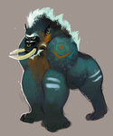Troll druid by Desperish