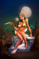 Dejah Thoris_COLOR by vest
