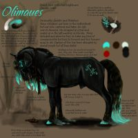 New character again Olimaeus by CreatTheCrow