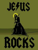 Jesus Rocks by Lodowax