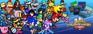 super smash bros flash online