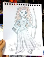 Indy Pop Merida (Brave) by tombancroft