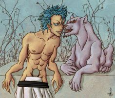 ::oh, Grimmjow:: by couic by Grimmjow-FC