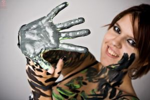Paint the Ashe: HAND by Valentine-Photo