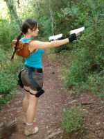 Lara Croft aiming by Val-Raiseth