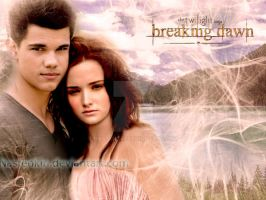 Renesmee and Jacob 2 by Nastenkin