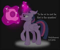 To be or not to be by Pinkythepony