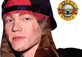 Axl Rose by RizkyRahmadianto