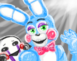 FNAF 2 by CocoaBerry52