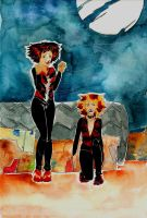 London and Maddie at the Jellicle Ball by SonicPossible00
