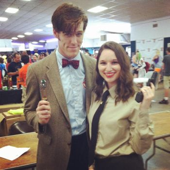 The Doctor and Peggy by MusicRocks14
