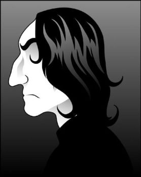 Snape Profile by blue-nadir