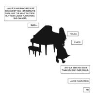 Jackie Plays Piano - page 8 by B3NN3TT