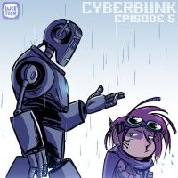 Cyberbunk Episode 5 on LINE Webtoon by Theamat