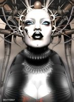 Queen CyberMetal by githos