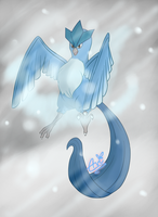Articuno by Avi-the-Avenger