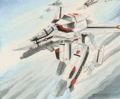 Macross scramble by Dtronaustin