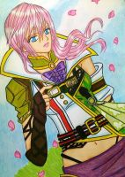 LR FFXIII: Lightning Dark Muse by dagga19