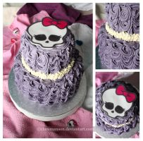 Monster High Cake by claremanson