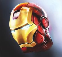 Iron Man by Daviash