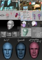 ZBrush Class : Modelling and UVs Lectures by noei1984